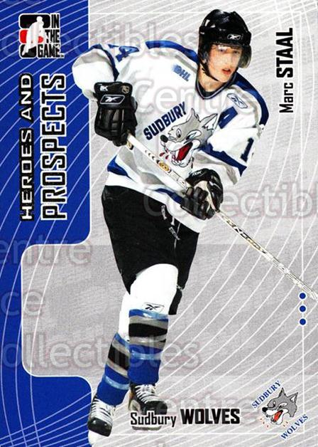 2005-06 ITG Heroes and Prospects #125 Marc Staal<br/>20 In Stock - $1.00 each - <a href=https://centericecollectibles.foxycart.com/cart?name=2005-06%20ITG%20Heroes%20and%20Prospects%20%23125%20Marc%20Staal...&price=$1.00&code=126690 class=foxycart> Buy it now! </a>