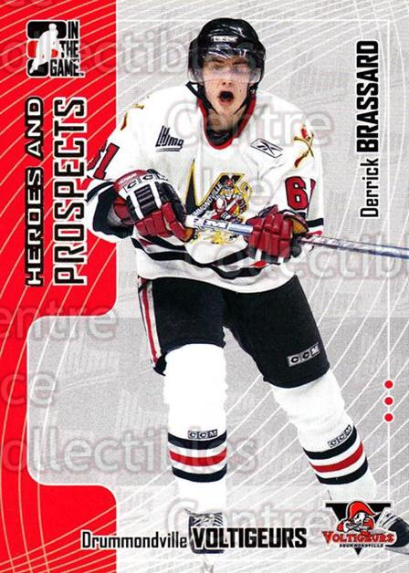 2005-06 ITG Heroes and Prospects #135 Derick Brassard<br/>19 In Stock - $1.00 each - <a href=https://centericecollectibles.foxycart.com/cart?name=2005-06%20ITG%20Heroes%20and%20Prospects%20%23135%20Derick%20Brassard...&price=$1.00&code=126699 class=foxycart> Buy it now! </a>