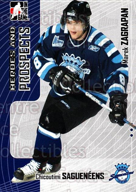 2005-06 ITG Heroes and Prospects #141 Marek Zagrapan<br/>18 In Stock - $1.00 each - <a href=https://centericecollectibles.foxycart.com/cart?name=2005-06%20ITG%20Heroes%20and%20Prospects%20%23141%20Marek%20Zagrapan...&price=$1.00&code=126705 class=foxycart> Buy it now! </a>