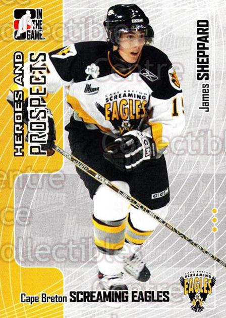 2005-06 ITG Heroes and Prospects #143 James Sheppard<br/>17 In Stock - $1.00 each - <a href=https://centericecollectibles.foxycart.com/cart?name=2005-06%20ITG%20Heroes%20and%20Prospects%20%23143%20James%20Sheppard...&price=$1.00&code=126706 class=foxycart> Buy it now! </a>