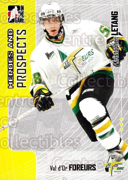 2005-06 ITG Heroes and Prospects #146 Kristopher Letang<br/>18 In Stock - $1.00 each - <a href=https://centericecollectibles.foxycart.com/cart?name=2005-06%20ITG%20Heroes%20and%20Prospects%20%23146%20Kristopher%20Leta...&price=$1.00&code=126709 class=foxycart> Buy it now! </a>