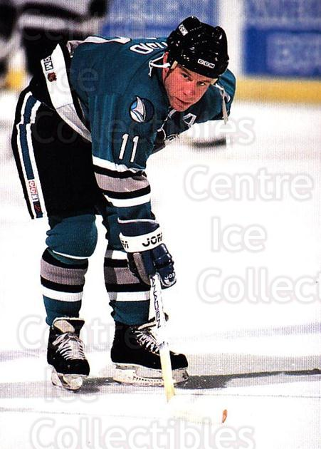 1991-92 San Jose Sharks Sports Action #12 Kelly Kisio<br/>2 In Stock - $3.00 each - <a href=https://centericecollectibles.foxycart.com/cart?name=1991-92%20San%20Jose%20Sharks%20Sports%20Action%20%2312%20Kelly%20Kisio...&quantity_max=2&price=$3.00&code=12670 class=foxycart> Buy it now! </a>
