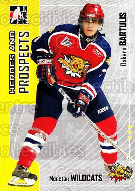 2005-06 ITG Heroes and Prospects #153 Oskars Bartulis<br/>19 In Stock - $1.00 each - <a href=https://centericecollectibles.foxycart.com/cart?name=2005-06%20ITG%20Heroes%20and%20Prospects%20%23153%20Oskars%20Bartulis...&price=$1.00&code=126716 class=foxycart> Buy it now! </a>