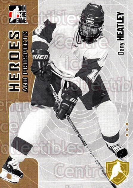 2005-06 ITG Heroes and Prospects #184 Dany Heatley<br/>8 In Stock - $1.00 each - <a href=https://centericecollectibles.foxycart.com/cart?name=2005-06%20ITG%20Heroes%20and%20Prospects%20%23184%20Dany%20Heatley...&quantity_max=8&price=$1.00&code=126745 class=foxycart> Buy it now! </a>