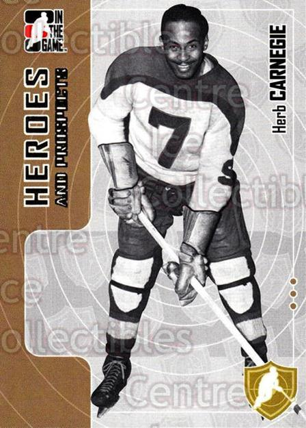2005-06 ITG Heroes and Prospects #185 Herb Carnegie<br/>2 In Stock - $1.00 each - <a href=https://centericecollectibles.foxycart.com/cart?name=2005-06%20ITG%20Heroes%20and%20Prospects%20%23185%20Herb%20Carnegie...&price=$1.00&code=126746 class=foxycart> Buy it now! </a>