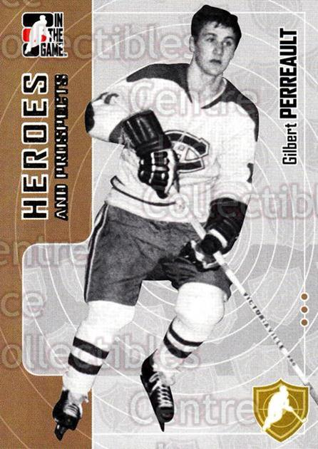 2005-06 ITG Heroes and Prospects #187 Gilbert Perreault<br/>6 In Stock - $1.00 each - <a href=https://centericecollectibles.foxycart.com/cart?name=2005-06%20ITG%20Heroes%20and%20Prospects%20%23187%20Gilbert%20Perreau...&price=$1.00&code=126748 class=foxycart> Buy it now! </a>