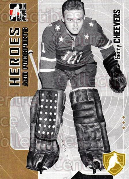 2005-06 ITG Heroes and Prospects #189 Gerry Cheevers<br/>7 In Stock - $1.00 each - <a href=https://centericecollectibles.foxycart.com/cart?name=2005-06%20ITG%20Heroes%20and%20Prospects%20%23189%20Gerry%20Cheevers...&price=$1.00&code=126750 class=foxycart> Buy it now! </a>