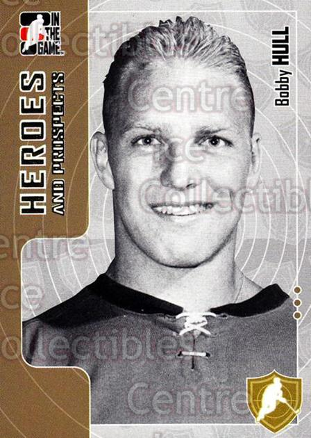 2005-06 ITG Heroes and Prospects #2 Bobby Hull<br/>19 In Stock - $1.00 each - <a href=https://centericecollectibles.foxycart.com/cart?name=2005-06%20ITG%20Heroes%20and%20Prospects%20%232%20Bobby%20Hull...&price=$1.00&code=126759 class=foxycart> Buy it now! </a>