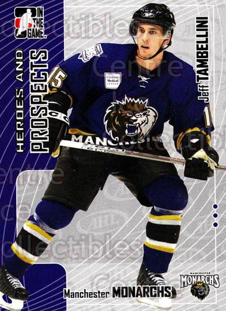 2005-06 ITG Heroes and Prospects #204 Jeff Tambellini<br/>4 In Stock - $1.00 each - <a href=https://centericecollectibles.foxycart.com/cart?name=2005-06%20ITG%20Heroes%20and%20Prospects%20%23204%20Jeff%20Tambellini...&price=$1.00&code=126765 class=foxycart> Buy it now! </a>