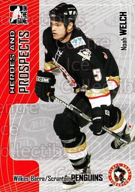 2005-06 ITG Heroes and Prospects #211 Noah Welch<br/>9 In Stock - $1.00 each - <a href=https://centericecollectibles.foxycart.com/cart?name=2005-06%20ITG%20Heroes%20and%20Prospects%20%23211%20Noah%20Welch...&price=$1.00&code=126772 class=foxycart> Buy it now! </a>