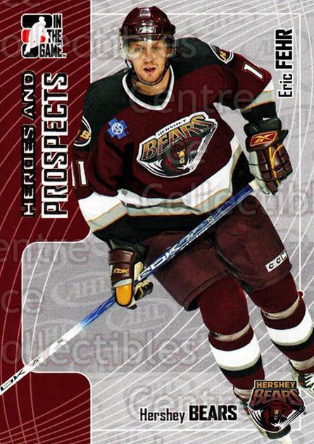 2005-06 ITG Heroes and Prospects #214 Eric Fehr<br/>9 In Stock - $1.00 each - <a href=https://centericecollectibles.foxycart.com/cart?name=2005-06%20ITG%20Heroes%20and%20Prospects%20%23214%20Eric%20Fehr...&price=$1.00&code=126775 class=foxycart> Buy it now! </a>