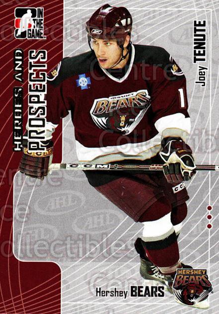 2005-06 ITG Heroes and Prospects #216 Joey Tenute<br/>2 In Stock - $1.00 each - <a href=https://centericecollectibles.foxycart.com/cart?name=2005-06%20ITG%20Heroes%20and%20Prospects%20%23216%20Joey%20Tenute...&price=$1.00&code=126777 class=foxycart> Buy it now! </a>