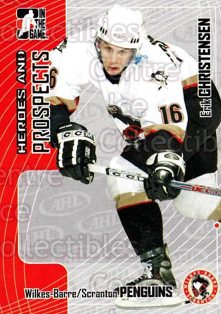 2005-06 ITG Heroes and Prospects #222 Erik Christensen<br/>8 In Stock - $1.00 each - <a href=https://centericecollectibles.foxycart.com/cart?name=2005-06%20ITG%20Heroes%20and%20Prospects%20%23222%20Erik%20Christense...&price=$1.00&code=126784 class=foxycart> Buy it now! </a>