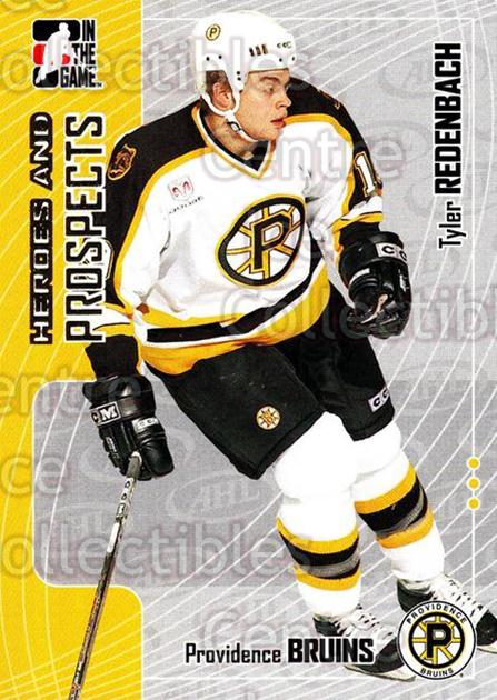 2005-06 ITG Heroes and Prospects #223 Tyler Redenbach<br/>3 In Stock - $1.00 each - <a href=https://centericecollectibles.foxycart.com/cart?name=2005-06%20ITG%20Heroes%20and%20Prospects%20%23223%20Tyler%20Redenbach...&price=$1.00&code=126785 class=foxycart> Buy it now! </a>
