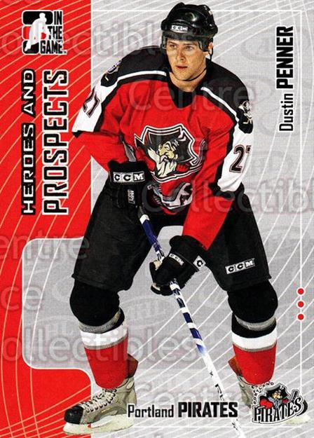 2005-06 ITG Heroes and Prospects #225 Dustin Penner<br/>5 In Stock - $1.00 each - <a href=https://centericecollectibles.foxycart.com/cart?name=2005-06%20ITG%20Heroes%20and%20Prospects%20%23225%20Dustin%20Penner...&quantity_max=5&price=$1.00&code=126787 class=foxycart> Buy it now! </a>