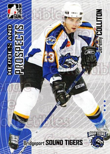 2005-06 ITG Heroes and Prospects #238 Jeremy Colliton<br/>8 In Stock - $1.00 each - <a href=https://centericecollectibles.foxycart.com/cart?name=2005-06%20ITG%20Heroes%20and%20Prospects%20%23238%20Jeremy%20Colliton...&price=$1.00&code=126801 class=foxycart> Buy it now! </a>