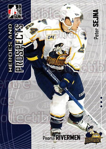 2005-06 ITG Heroes and Prospects #245 Peter Sejna<br/>6 In Stock - $1.00 each - <a href=https://centericecollectibles.foxycart.com/cart?name=2005-06%20ITG%20Heroes%20and%20Prospects%20%23245%20Peter%20Sejna...&price=$1.00&code=126809 class=foxycart> Buy it now! </a>
