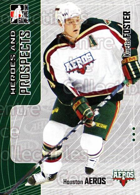 2005-06 ITG Heroes and Prospects #254 Kurtis Foster<br/>7 In Stock - $1.00 each - <a href=https://centericecollectibles.foxycart.com/cart?name=2005-06%20ITG%20Heroes%20and%20Prospects%20%23254%20Kurtis%20Foster...&price=$1.00&code=126819 class=foxycart> Buy it now! </a>