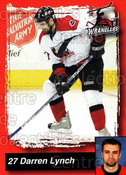 2005-06 Las Vegas Wranglers #11 Darren Lynch<br/>7 In Stock - $3.00 each - <a href=https://centericecollectibles.foxycart.com/cart?name=2005-06%20Las%20Vegas%20Wranglers%20%2311%20Darren%20Lynch...&quantity_max=7&price=$3.00&code=126884 class=foxycart> Buy it now! </a>