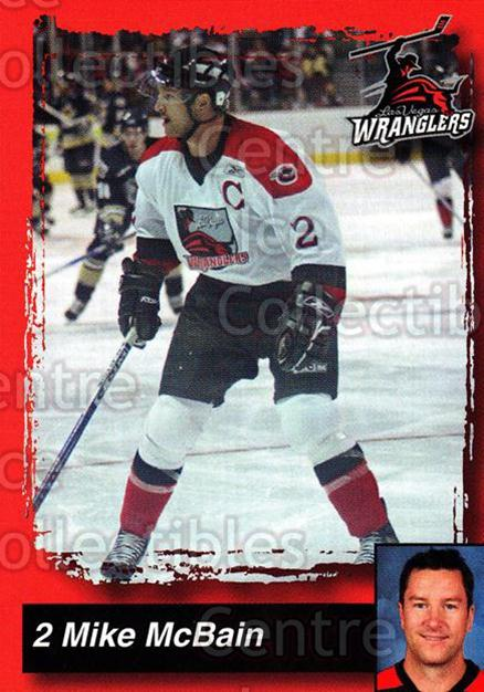 2005-06 Las Vegas Wranglers #13 Mike McBain<br/>7 In Stock - $3.00 each - <a href=https://centericecollectibles.foxycart.com/cart?name=2005-06%20Las%20Vegas%20Wranglers%20%2313%20Mike%20McBain...&quantity_max=7&price=$3.00&code=126886 class=foxycart> Buy it now! </a>