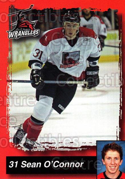 2005-06 Las Vegas Wranglers #16 Sean O'Connor<br/>1 In Stock - $3.00 each - <a href=https://centericecollectibles.foxycart.com/cart?name=2005-06%20Las%20Vegas%20Wranglers%20%2316%20Sean%20O'Connor...&quantity_max=1&price=$3.00&code=126888 class=foxycart> Buy it now! </a>