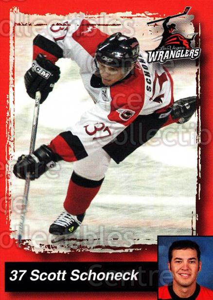 2005-06 Las Vegas Wranglers #19 Scott Schoneck<br/>7 In Stock - $3.00 each - <a href=https://centericecollectibles.foxycart.com/cart?name=2005-06%20Las%20Vegas%20Wranglers%20%2319%20Scott%20Schoneck...&quantity_max=7&price=$3.00&code=126890 class=foxycart> Buy it now! </a>