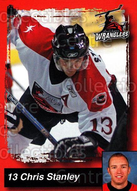 2005-06 Las Vegas Wranglers #21 Chris Stanley<br/>7 In Stock - $3.00 each - <a href=https://centericecollectibles.foxycart.com/cart?name=2005-06%20Las%20Vegas%20Wranglers%20%2321%20Chris%20Stanley...&quantity_max=7&price=$3.00&code=126893 class=foxycart> Buy it now! </a>