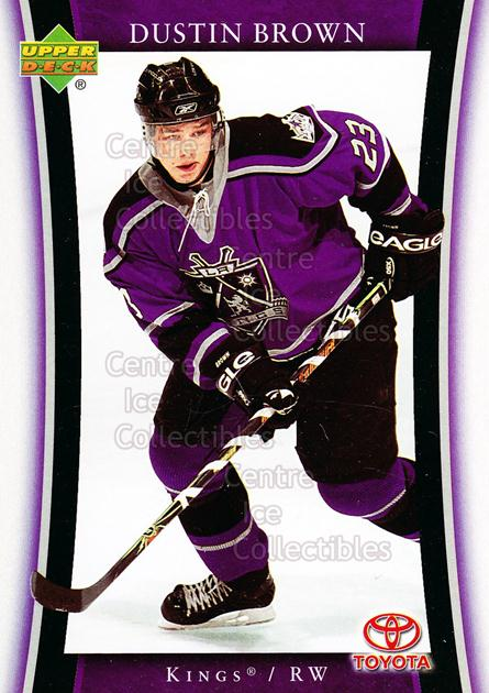 2005-06 Los Angeles Kings #7 Dustin Brown<br/>16 In Stock - $3.00 each - <a href=https://centericecollectibles.foxycart.com/cart?name=2005-06%20Los%20Angeles%20Kings%20%237%20Dustin%20Brown...&quantity_max=16&price=$3.00&code=126956 class=foxycart> Buy it now! </a>