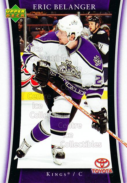 2005-06 Los Angeles Kings #8 Eric Belanger<br/>16 In Stock - $3.00 each - <a href=https://centericecollectibles.foxycart.com/cart?name=2005-06%20Los%20Angeles%20Kings%20%238%20Eric%20Belanger...&quantity_max=16&price=$3.00&code=126957 class=foxycart> Buy it now! </a>