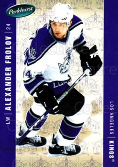 2005-06 Parkhurst #221 Alexander Frolov<br/>8 In Stock - $1.00 each - <a href=https://centericecollectibles.foxycart.com/cart?name=2005-06%20Parkhurst%20%23221%20Alexander%20Frolo...&quantity_max=8&price=$1.00&code=126965 class=foxycart> Buy it now! </a>
