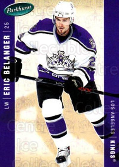 2005-06 Parkhurst #225 Eric Belanger<br/>8 In Stock - $1.00 each - <a href=https://centericecollectibles.foxycart.com/cart?name=2005-06%20Parkhurst%20%23225%20Eric%20Belanger...&quantity_max=8&price=$1.00&code=126969 class=foxycart> Buy it now! </a>