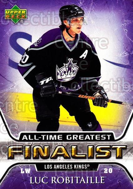 2005-06 Upper Deck All-Time Greatest #28 Luc Robitaille<br/>6 In Stock - $2.00 each - <a href=https://centericecollectibles.foxycart.com/cart?name=2005-06%20Upper%20Deck%20All-Time%20Greatest%20%2328%20Luc%20Robitaille...&quantity_max=6&price=$2.00&code=127044 class=foxycart> Buy it now! </a>