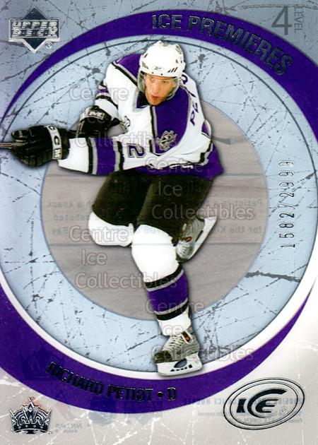 2005-06 UD Ice #244 Richard Petiot<br/>6 In Stock - $3.00 each - <a href=https://centericecollectibles.foxycart.com/cart?name=2005-06%20UD%20Ice%20%23244%20Richard%20Petiot...&quantity_max=6&price=$3.00&code=127052 class=foxycart> Buy it now! </a>
