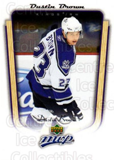 2005-06 Upper Deck MVP #183 Dustin Brown<br/>4 In Stock - $1.00 each - <a href=https://centericecollectibles.foxycart.com/cart?name=2005-06%20Upper%20Deck%20MVP%20%23183%20Dustin%20Brown...&quantity_max=4&price=$1.00&code=127061 class=foxycart> Buy it now! </a>