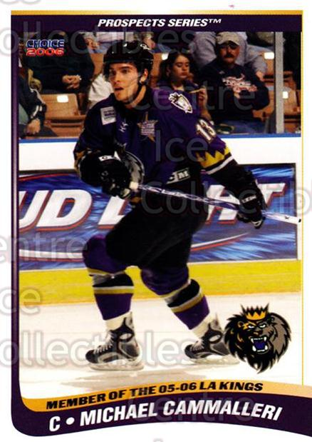 2005-06 Manchester Monarchs Series Two #3 Mike Cammalleri<br/>3 In Stock - $3.00 each - <a href=https://centericecollectibles.foxycart.com/cart?name=2005-06%20Manchester%20Monarchs%20Series%20Two%20%233%20Mike%20Cammalleri...&quantity_max=3&price=$3.00&code=127087 class=foxycart> Buy it now! </a>