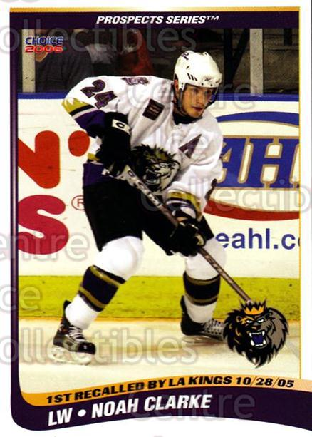 2005-06 Manchester Monarchs Series Two #4 Noah Clarke<br/>4 In Stock - $3.00 each - <a href=https://centericecollectibles.foxycart.com/cart?name=2005-06%20Manchester%20Monarchs%20Series%20Two%20%234%20Noah%20Clarke...&quantity_max=4&price=$3.00&code=127088 class=foxycart> Buy it now! </a>