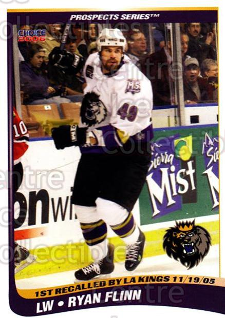 2005-06 Manchester Monarchs Series Two #5 Ryan Flinn<br/>6 In Stock - $3.00 each - <a href=https://centericecollectibles.foxycart.com/cart?name=2005-06%20Manchester%20Monarchs%20Series%20Two%20%235%20Ryan%20Flinn...&quantity_max=6&price=$3.00&code=127089 class=foxycart> Buy it now! </a>