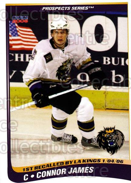 2005-06 Manchester Monarchs Series Two #13 Connor James<br/>5 In Stock - $3.00 each - <a href=https://centericecollectibles.foxycart.com/cart?name=2005-06%20Manchester%20Monarchs%20Series%20Two%20%2313%20Connor%20James...&quantity_max=5&price=$3.00&code=127098 class=foxycart> Buy it now! </a>