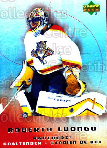2005-06 McDonalds Upper Deck #19 Roberto Luongo<br/>6 In Stock - $2.00 each - <a href=https://centericecollectibles.foxycart.com/cart?name=2005-06%20McDonalds%20Upper%20Deck%20%2319%20Roberto%20Luongo...&quantity_max=6&price=$2.00&code=127168 class=foxycart> Buy it now! </a>