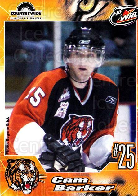 2005-06 Medicine Hat Tigers #2 Cam Barker<br/>2 In Stock - $3.00 each - <a href=https://centericecollectibles.foxycart.com/cart?name=2005-06%20Medicine%20Hat%20Tigers%20%232%20Cam%20Barker...&quantity_max=2&price=$3.00&code=127208 class=foxycart> Buy it now! </a>