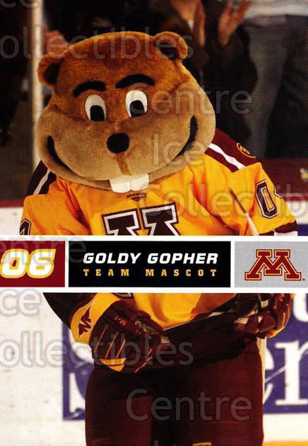 2005-06 Minnesota Golden Gophers #27 Mascot<br/>7 In Stock - $3.00 each - <a href=https://centericecollectibles.foxycart.com/cart?name=2005-06%20Minnesota%20Golden%20Gophers%20%2327%20Mascot...&quantity_max=7&price=$3.00&code=127237 class=foxycart> Buy it now! </a>