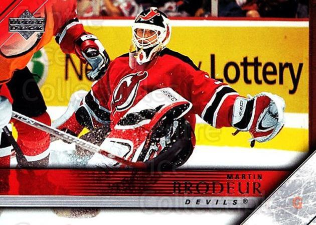 2005-06 Upper Deck #362 Martin Brodeur<br/>4 In Stock - $2.00 each - <a href=https://centericecollectibles.foxycart.com/cart?name=2005-06%20Upper%20Deck%20%23362%20Martin%20Brodeur...&quantity_max=4&price=$2.00&code=127334 class=foxycart> Buy it now! </a>