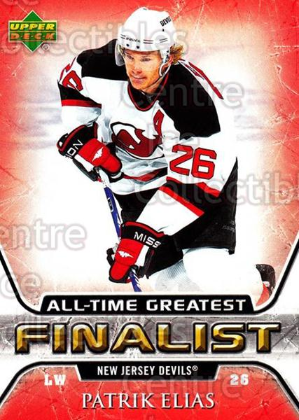 2005-06 Upper Deck All-Time Greatest #36 Patrik Elias<br/>6 In Stock - $2.00 each - <a href=https://centericecollectibles.foxycart.com/cart?name=2005-06%20Upper%20Deck%20All-Time%20Greatest%20%2336%20Patrik%20Elias...&quantity_max=6&price=$2.00&code=127342 class=foxycart> Buy it now! </a>