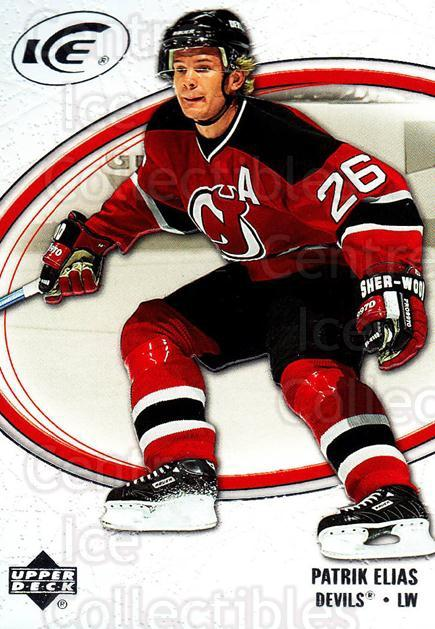 2005-06 UD Ice #57 Patrik Elias<br/>4 In Stock - $1.00 each - <a href=https://centericecollectibles.foxycart.com/cart?name=2005-06%20UD%20Ice%20%2357%20Patrik%20Elias...&quantity_max=4&price=$1.00&code=127346 class=foxycart> Buy it now! </a>