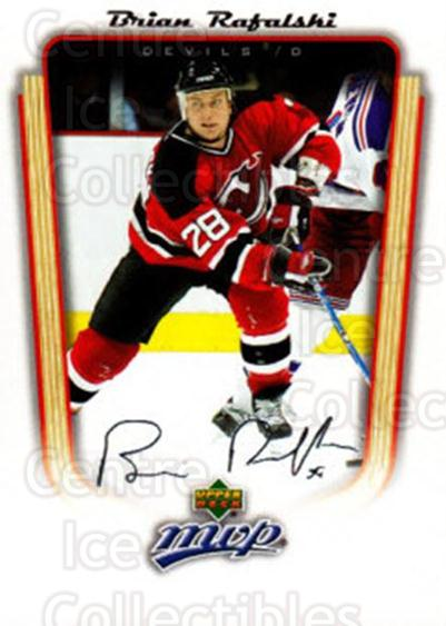 2005-06 Upper Deck MVP #236 Brian Rafalski<br/>3 In Stock - $1.00 each - <a href=https://centericecollectibles.foxycart.com/cart?name=2005-06%20Upper%20Deck%20MVP%20%23236%20Brian%20Rafalski...&quantity_max=3&price=$1.00&code=127356 class=foxycart> Buy it now! </a>