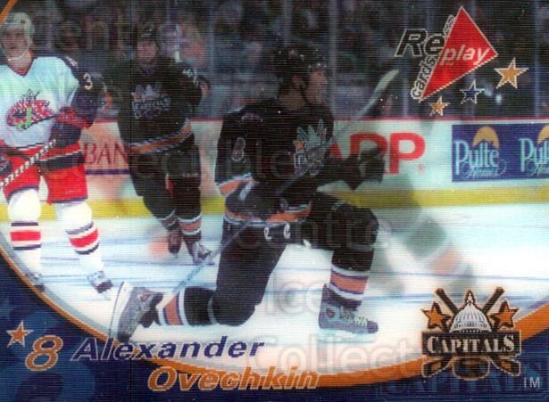 2005-06 NHL Replay Cards #36 Alexander Ovechkin<br/>3 In Stock - $3.00 each - <a href=https://centericecollectibles.foxycart.com/cart?name=2005-06%20NHL%20Replay%20Cards%20%2336%20Alexander%20Ovech...&price=$3.00&code=127397 class=foxycart> Buy it now! </a>