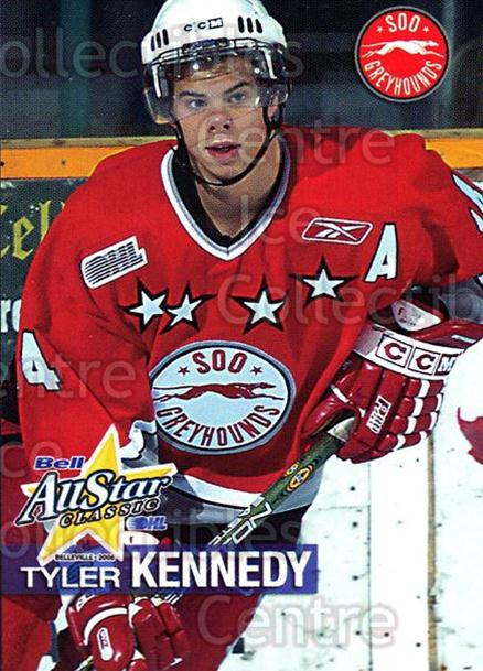 2005-06 OHL Bell AS Classic #14 Tyler Kennedy<br/>3 In Stock - $3.00 each - <a href=https://centericecollectibles.foxycart.com/cart?name=2005-06%20OHL%20Bell%20AS%20Classic%20%2314%20Tyler%20Kennedy...&quantity_max=3&price=$3.00&code=127455 class=foxycart> Buy it now! </a>
