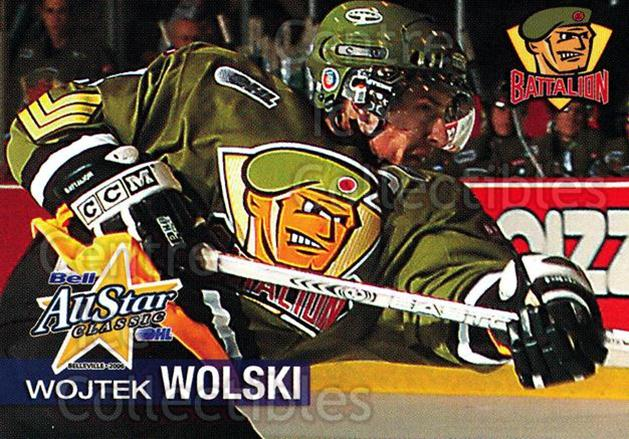 2005-06 OHL Bell AS Classic #40 Wojtek Wolski<br/>9 In Stock - $3.00 each - <a href=https://centericecollectibles.foxycart.com/cart?name=2005-06%20OHL%20Bell%20AS%20Classic%20%2340%20Wojtek%20Wolski...&price=$3.00&code=127456 class=foxycart> Buy it now! </a>