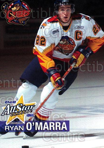 2005-06 OHL Bell AS Classic #24 Ryan O'Marra<br/>2 In Stock - $3.00 each - <a href=https://centericecollectibles.foxycart.com/cart?name=2005-06%20OHL%20Bell%20AS%20Classic%20%2324%20Ryan%20O'Marra...&price=$3.00&code=127459 class=foxycart> Buy it now! </a>