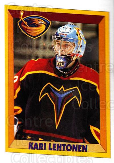 2005-06 Panini Stickers #10 Kari Lehtonen<br/>7 In Stock - $1.00 each - <a href=https://centericecollectibles.foxycart.com/cart?name=2005-06%20Panini%20Stickers%20%2310%20Kari%20Lehtonen...&quantity_max=7&price=$1.00&code=127491 class=foxycart> Buy it now! </a>